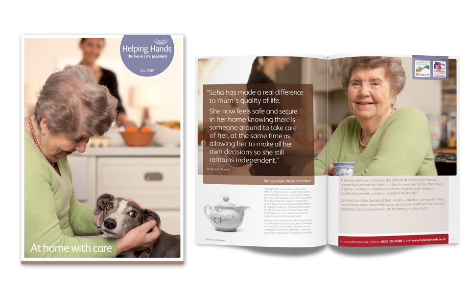 Helping Hands Elderly Brochure
