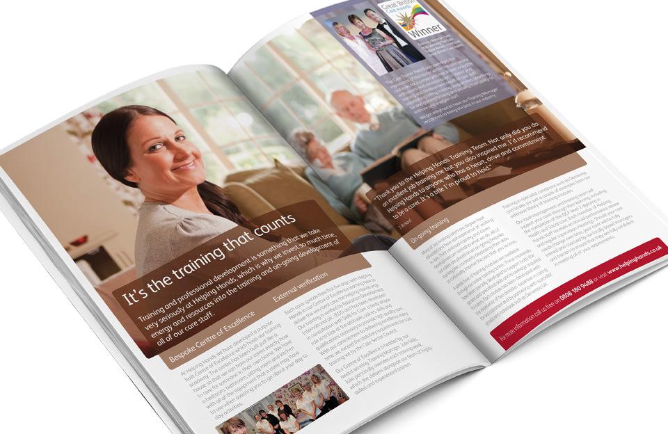 Helping Hands Elderly Brochure