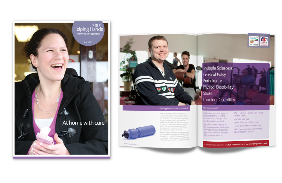 Helping Hands Younger Adults Brochure