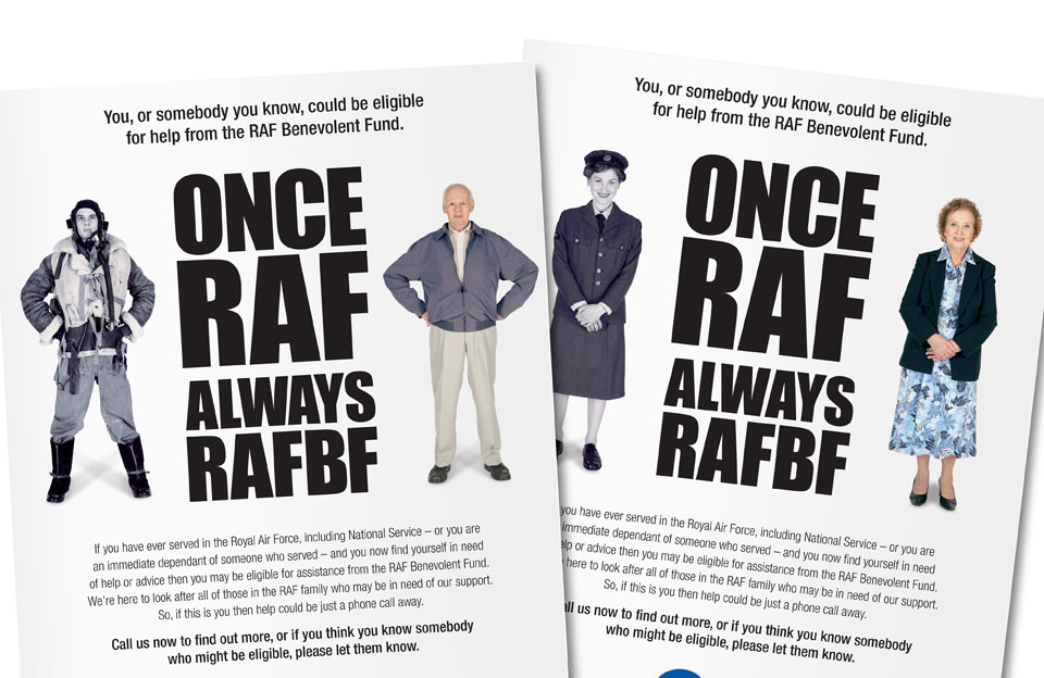 Royal Air Force Benevolent Fund RAFBF Eligibility