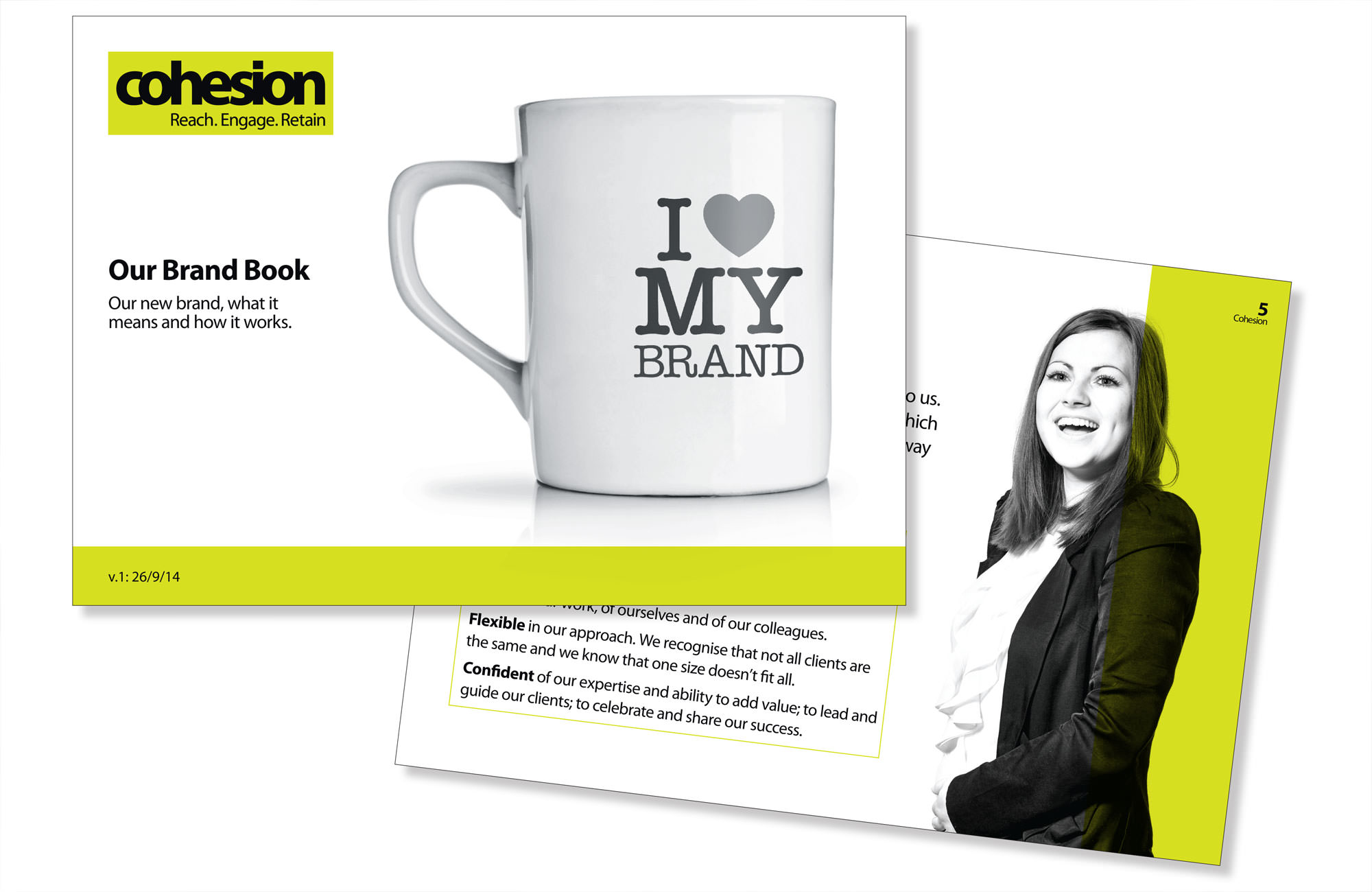 Cohesion. Our brand book.